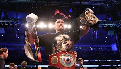 Oleksandr Usyk eyes Tyson Fury fight after Anthony Joshua rematch