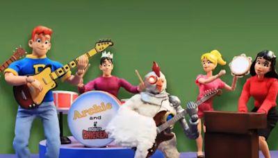 TVLine Items: Robot Chicken Meets Archie, Floor Is Lava Renewed and More