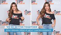 Sofia Vergara Talks Thyroid Cancer Diagnosis at 28: 'I Decided to Get Educated'