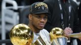 Giannis Says He's 'Still Hurting' After Playing Through Knee Injury in NBA Finals