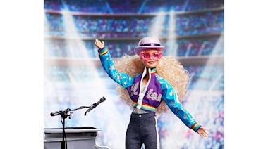 Elton John is now a Barbie. He hopes fans are inspired to 'fearlessly' pursue dreams