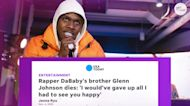 'Check on your people': Rapper DaBaby mourns the death of his older brother