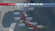 Tropical Storm Elsa slams through Haiti and Dominican Republic