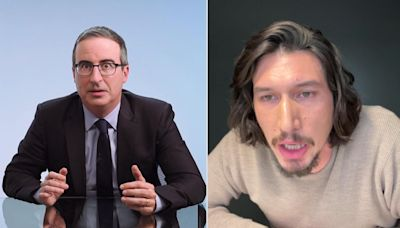 Why the Last Week Tonight With John Oliver writing team dedicated their Emmy win to Adam Driver
