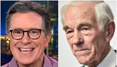 Stephen Colbert Goes Off On Ron Paul Wearing 'Daisy Dukes' Shorts In Interview
