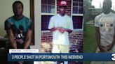 3 people shot in Portsmouth this weekend