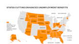 The 25 states that are dropping the $300 weekly unemployment benefit