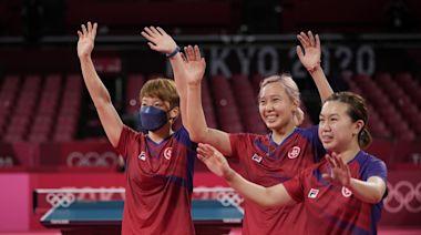行政長官祝賀乒乓運動員勇奪奧運女子團體賽銅牌 - RTHK