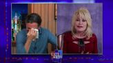 Watch Dolly Parton Make Stephen Colbert Cry With an Old Folk Song