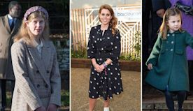 Princess Beatrice, Princess Charlotte and Lady Louise Windsor all share the same connection to the Queen