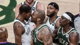 NBA: Nets security guard who shoved Bucks' Tucker reprimanded by league - reports