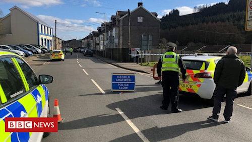 Treorchy: Police probe girl's death after 'disturbing event'
