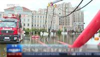 烟花颱風「肆虐」中國! 各地黃泥淹路、轎車泡水