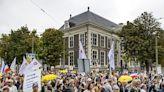 【疫情9.26】抗議COVID證書 荷蘭人遊行