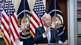 Covid relief led to increase in insured, Biden says