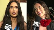 Megan Fox at Moschino, Amelia Hamlin Models: Scenes From NYFW