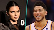 Kendall Jenner & Devin Booker Get Cozy In Rare Photos For Their 1-Year Anniversary