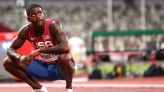 Athletics-Bromell sets world-leading time in 100m after Tokyo disappointment