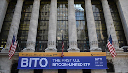 ProShares Bitcoin Futures ETF 'BITO' Hauls In $570M of Assets in Stock-Market Debut