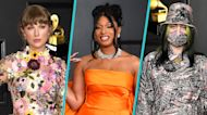 Grammys 2021: Taylor Swift, Megan Thee Stallion, Billie Eilish & More Eye-Popping Red Carpet Style