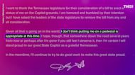Dolly Parton says thanks but no thanks to Tennessee state capitol statue, for now