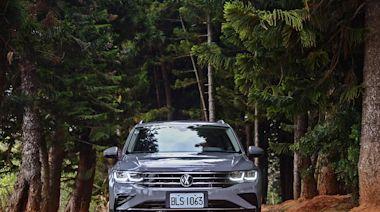 踢館高手 Volkswagen Tiguan 280 TSI Elegance 台中試駕