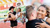 Olympic and Paralympic stars Tara Davis and Hunter Woodhall get engaged