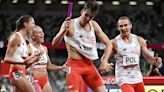 Poland stuns in inaugural 4x400 mixed relay as favored Americans claim bronze