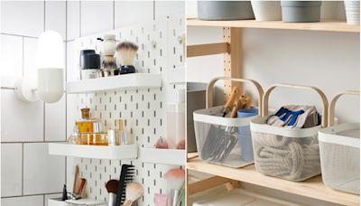 收納達人狂推!IKEA 必買百元收納好物,化妝台、臥室小空間瞬間整齊又乾淨