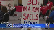 Hammond, Indiana Teachers Rally Over Safety Concerns
