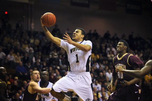 Wofford Men's Basketball falls 77-73 against Charleston Southern