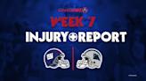 Giants' Saquon Barkley, Kadarius Toney out vs. Panthers