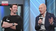 Hugh Jackman Shares the Life Advice He Received From Patrick Stewart   THR News