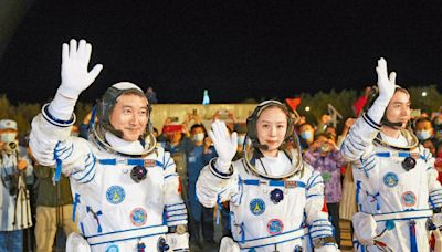 神舟三傑踏上太空征途 駐留半年寫最長紀錄