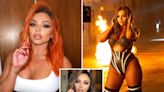 Jesy Nelson's glam squad revealed after she debuts orange hair in sexy Instagram snap