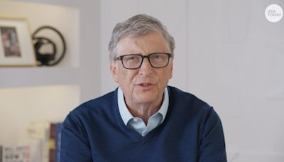 Fact check: Bill Gates didn't hand journalist a blank check on TV