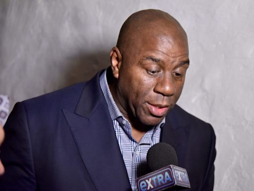 Magic Johnson Reacts To Lakers' Russell Westbrook Trade