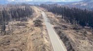 Fire Crews Work to Repair Containment Lines of California's Caldor Fire