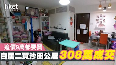 【直擊單位】 白居二首期31萬 搵到個沙田雅致裝修公屋 - 香港經濟日報 - 地產站 - 二手住宅 - 資助房屋成交