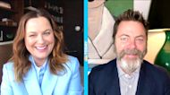 Amy Poehler and Nick Offerman talk about Season 3 of craft competition 'Making It'