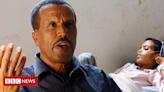 Tigray war: Walking three days to find a hospital