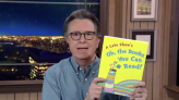 Stephen Colbert Revels In Coronavirus Vaccine News, Defends Removal Of Controversial Dr. Seuss Books