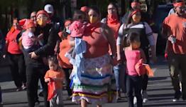Healing walk held in downtown Billings