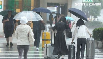 新/連假出遊小心變落湯雞!4縣市大雨特報、注意雷擊強風