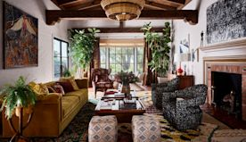 Inside Rainn Wilson's Idyllic Spanish-Style Hacienda