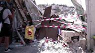 Israeli forces demolish Palestinian shop
