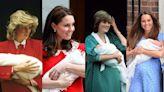 凱特王妃第3次穿Jenny Packham連身裙於產子後亮相!每逢誕下「小王子」的衣著都是向戴安娜王妃致敬