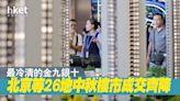 【中國樓市】最冷清的金九銀十 北京等26地中秋假期樓市成交齊降 - 香港經濟日報 - 中國頻道 - 經濟脈搏