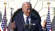 Biden honors teachers at the White House: 'You're the best of the best'