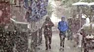 Tourists, Locals Surprised by Late-May Sierra Snow